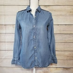 Holding Horses chambray button up